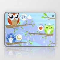 Owl Hangout With You Laptop & iPad Skin