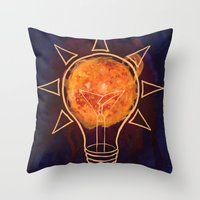 Sunlight  Throw Pillow