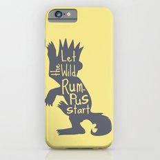 Let the Wild Rumpus Start  iPhone 6s Slim Case