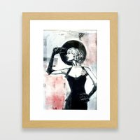 1950s Framed Art Print