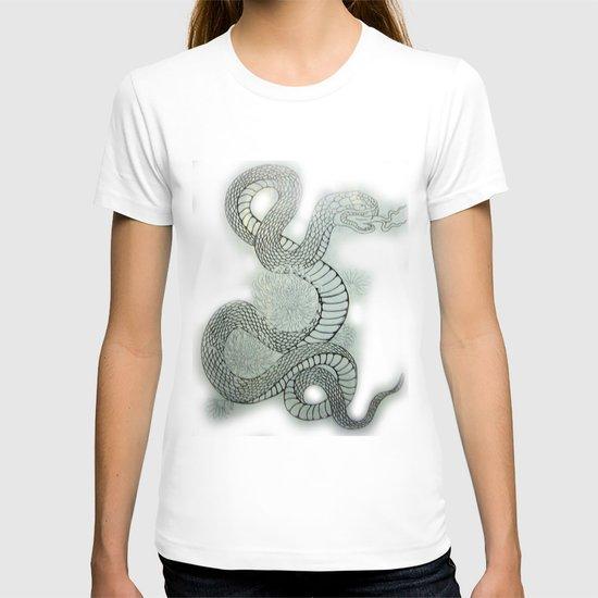 snake in the garden T-shirt