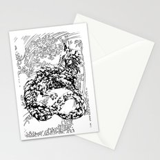 A Dragon from your Subconscious Mind #2 Stationery Cards