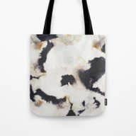 Tote Bag featuring Ink And Coffee by Grace