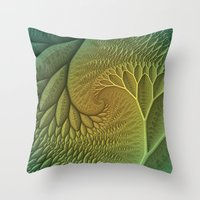 Innie and Outie Throw Pillow