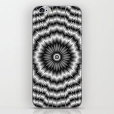 Silver Rosette iPhone & iPod Skin