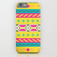 iPhone & iPod Case featuring Tribal Brights by Krystal Nicole