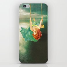 Hanging On iPhone & iPod Skin