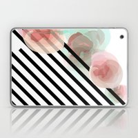 Watercolor Floral With S… Laptop & iPad Skin