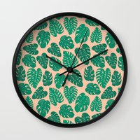 Cheese Plant - Trendy Hi… Wall Clock