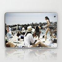 Bondi Beach People Laptop & iPad Skin