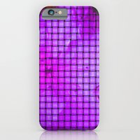 iPhone & iPod Case featuring Purple flower pattern by Pink grapes
