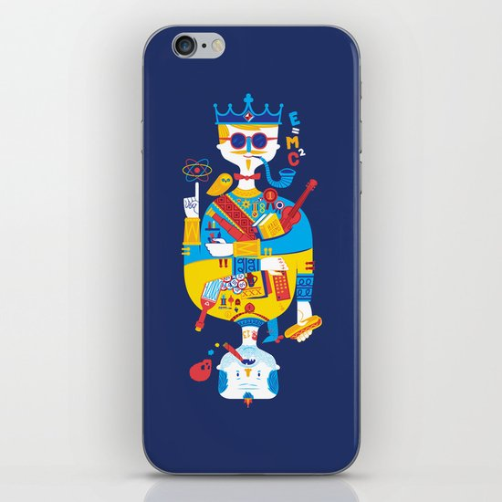 Jack of Smarts (Knave of Slobs) iPhone & iPod Skin