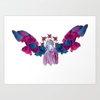 Angel Gabriel Art Print