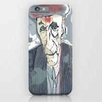 iPhone & iPod Case featuring William S. Burroughs by MENAGU'