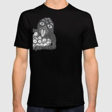 lollipop monster 2 SMALL Black Mens Fitted Tee