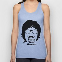 State Your Gender Unisex Tank Top