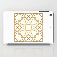 Golden Flower iPad Case