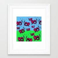 Schnegg. Framed Art Print