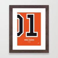 No001 My The Dukes Of Ha… Framed Art Print