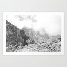 Long's Peak Art Print
