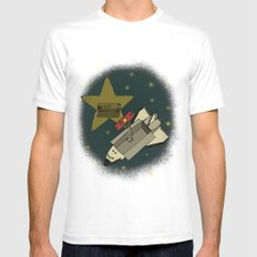 Star in the service Mens Fitted Tee White SMALL