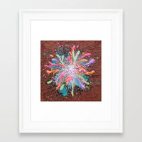 Collective Consciousness Dissection 1 Framed Art Print