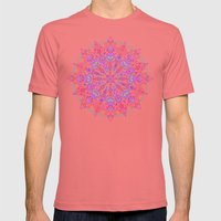 Bohemian Mens Fitted Tee Pomegranate SMALL
