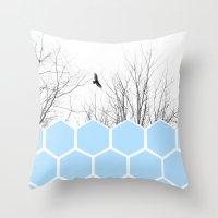 Volute Throw Pillow