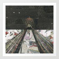 Everything I Need Is Where I'm Going Art Print