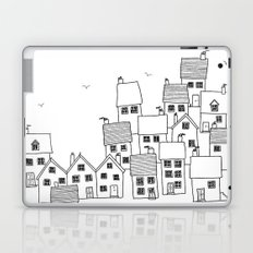 Harbour sketch Laptop & iPad Skin