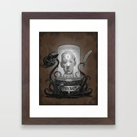Accursed Inspiration Framed Art Print