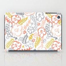 Floral Brush iPad Case