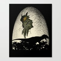 A Nightmare Is Born. Canvas Print