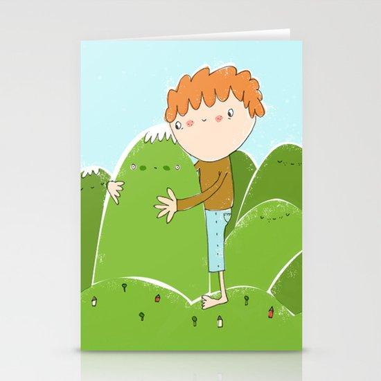 do you need a hug? Stationery Card