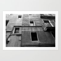 window 13 Art Print