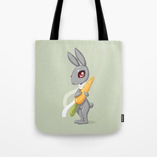 Bunny Carrot 3 Tote Bag