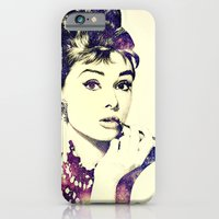 iPhone Cases featuring Cosmic Audrey by Sarah Skupien