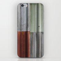 Corrugated Iron iPhone & iPod Skin
