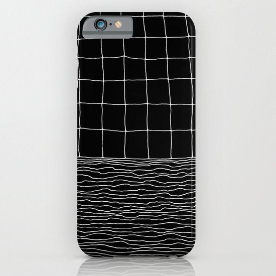 Hand Drawn Grid iPhone & iPod Case