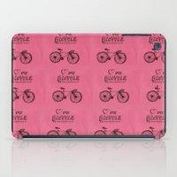 Love my Bicycle iPad Case