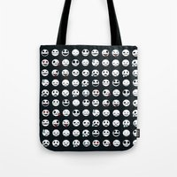 Jack's Emoticons Tote Bag