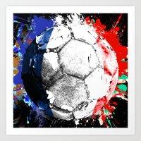 football France Art Print