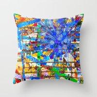Ana (Goldberg Variations… Throw Pillow
