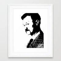 Mark Gatiss Framed Art Print
