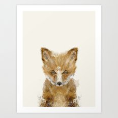 little fox cub Art Print