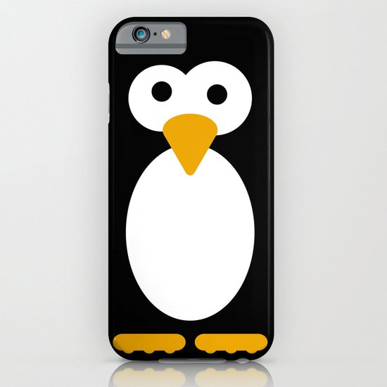 Minimal Penguin iPhone & iPod Case