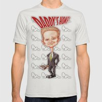 The legendary...Barney Stinson! Mens Fitted Tee Silver SMALL