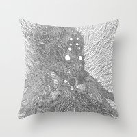 The Orc Throw Pillow