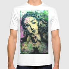 SUPER NOVA VENUS White Mens Fitted Tee SMALL