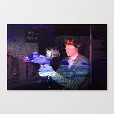 Jurassic Arcade Canvas Print